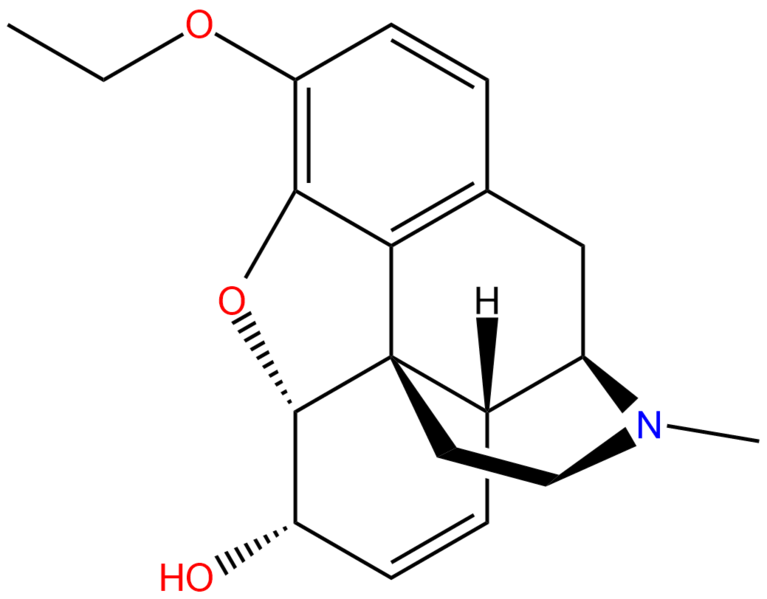 Ethylmorphine structure.png