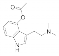 O-Acetylpsilocin chemical structure.png